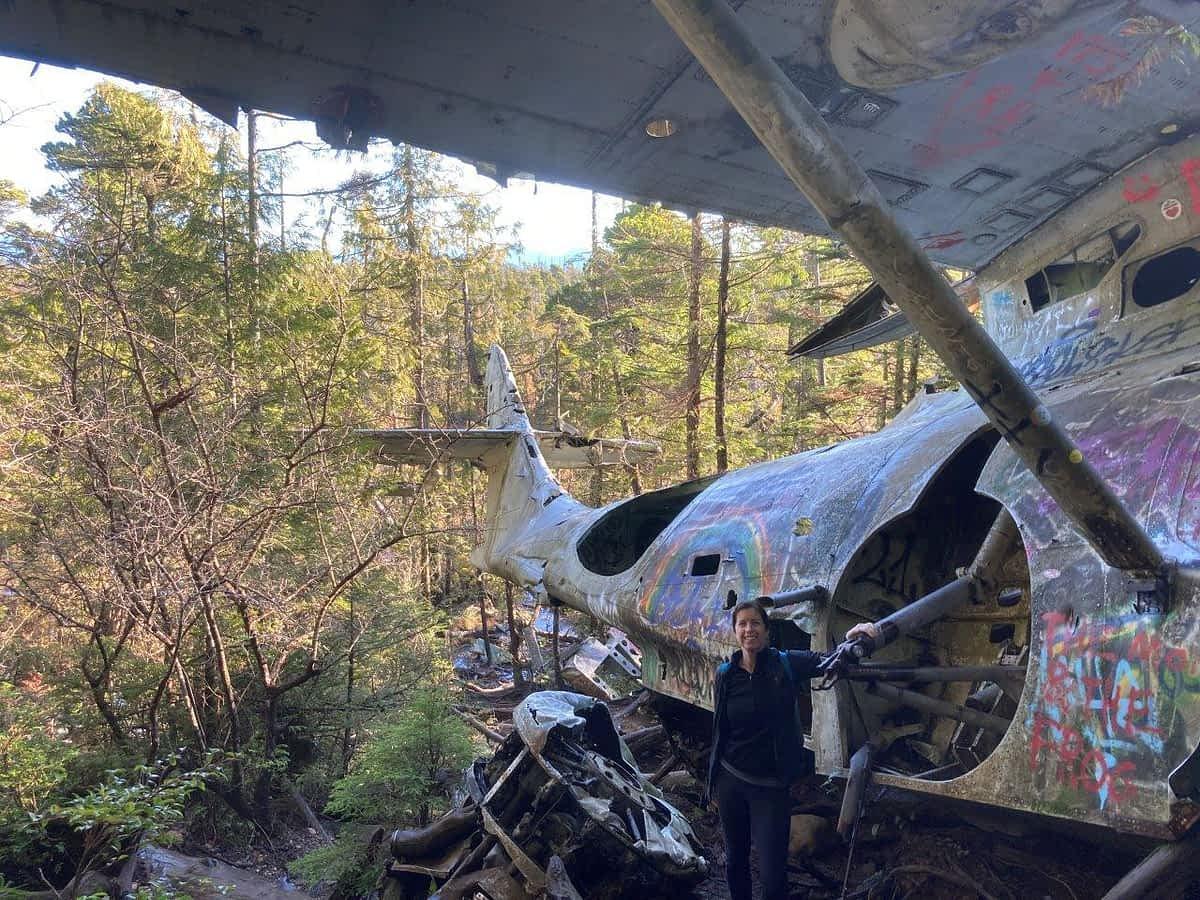 Canso Plane Crash site Tofino BC