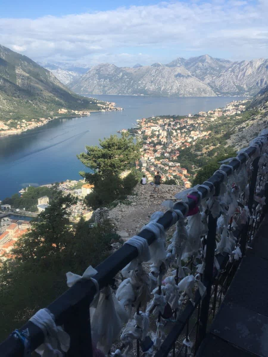 Bridge of Wet Wipes at Kotor Fortress
